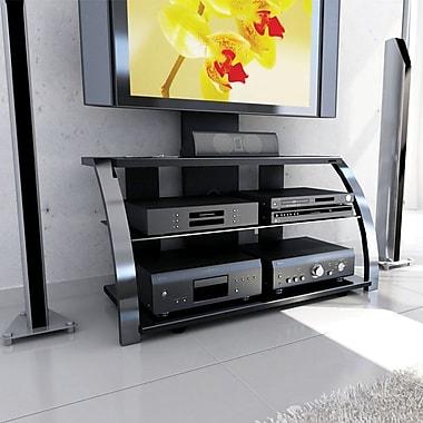 Sonax® Milan Hybrid 45.75in. TV Stand, Gun Metal