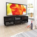 Sonax® Sedona 60in. Medium Density Fiberboard TV/Component Bench, Ravenwood Black