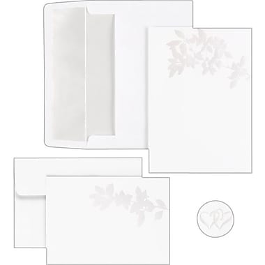 Great Papers® Pearl Leaves Invitation and Note Card Kit