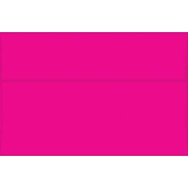 Flashy Pink A9 Envelopes