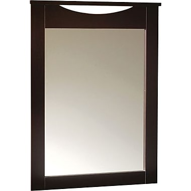 South Shore – Miroir pour commode de la collection City Life, fini chocolat