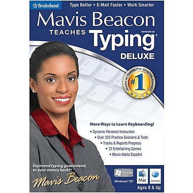 Encore Mavis Beacon 20 Deluxe for Windows (1-User) [Boxed]