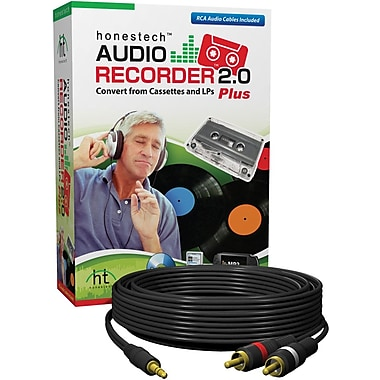 Honest Technology Audio Recorder 2.0 Plus for Windows (1-User) [Boxed]