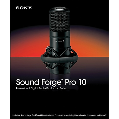Sony Media Software Sound Forge 10 for Windows (1-User) [Boxed]