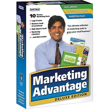 Individual Software Marketing Advantage Deluxe for Windows (1-User) [Boxed]