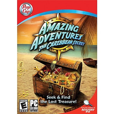 Pop Cap Games Amazing Adventures: Caribbean Secret for Windows (1-User) [Boxed]