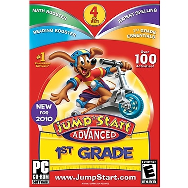 Knowledge Adventure Jumpstart Advanced 1st Grade V3.0 for Windows (1-User) [Boxed]