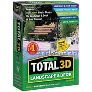 Individual Software Total 3D Landscape & Deck Deluxe for Windows (1-User) [Boxed]