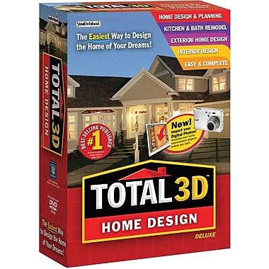 Total 3D Home Design Deluxe 11 for Windows (1-User) [Boxed]
