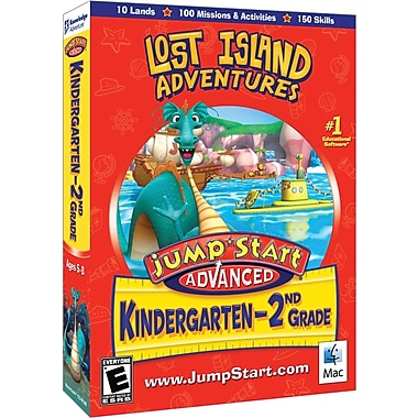 Knowledge Adventure Jumpstart K-2: Lost Island Adventures for Mac (1-User) [Boxed]
