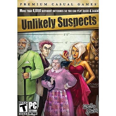 Encore Unlikely Suspects for Windows (1-User) [Boxed]