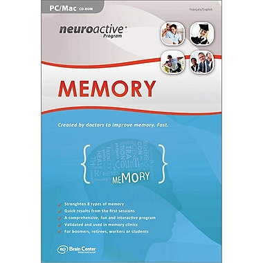 Brain Center America Neuroactive Program Memory for Windows/Mac (1-User) [Boxed]