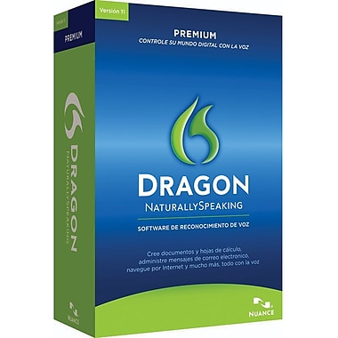 Nuance Communications Dragon Premium 11.0 Spanish for Windows (1-User) [Boxed]
