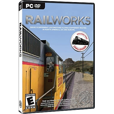 Railsimulators Railworks Train Simulator for Windows (1-User) [Boxed]