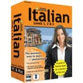 Topics Entertainment Instant Immersion Italian Levels 1,2 & 3 for Windows/Mac (1-User) [Boxed]