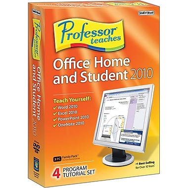 Individual Software Professor Teaches Office Home & Student 2010 for Windows (1-User) [Boxed]