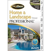 Encore Punch! Home & Landscape Design Professional Nexgen3  for Windows (1-User) [Boxed]
