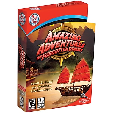 Pop Cap Games Amazing Adventures The Forgotten Dynasty for Windows (1-User) [Boxed]