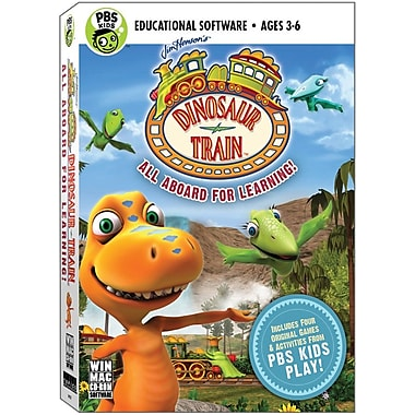 Topics Entertainment Dinosaur Train for Windows (1-User) [Boxed]