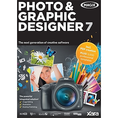 Magix Xara Photo & Graphic Designer 7 for Windows (1-User) [Boxed]