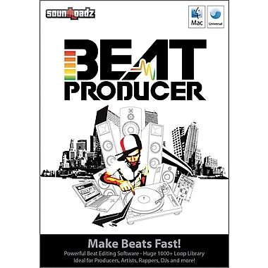 Advanced Media Group Beat Producer for Windows/Mac (1-User) [Boxed]