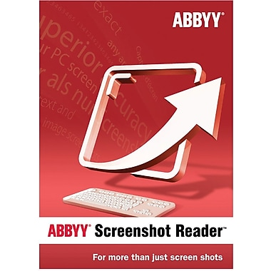 Abbyy Screenshot Reader for Windows (1-User) [Boxed]