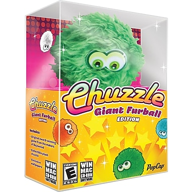 Pop Cap Games Chuzzle The Giant Furball Edition for Windows/Mac (1User) [Boxed]