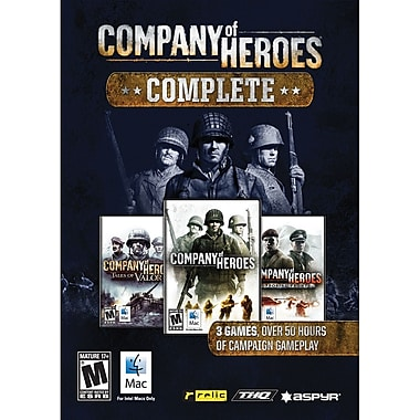 Aspyr Media Company Of Heroes Complete for Mac (1-User) [Boxed]
