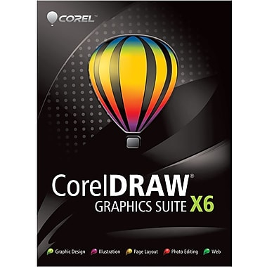 Corel Corporation Coreldraw Graphics Suite X6 for Windows (1-User) [Boxed]