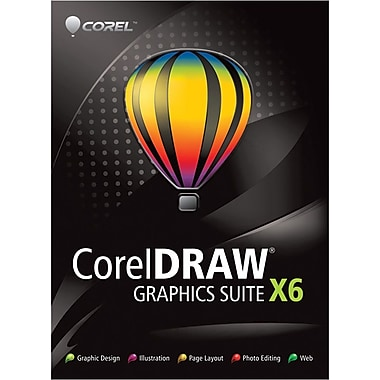 Corel Corporation Coreldraw Graphics Suite X6 Upgrade for Windows (1-User) [Boxed]