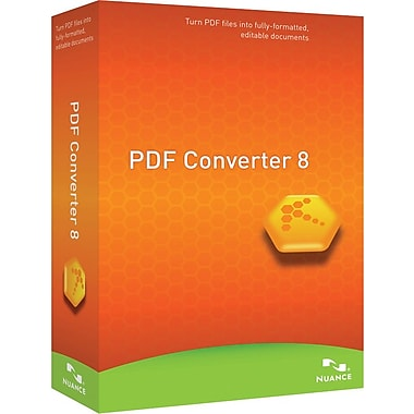 Nuance PDF Converter 8.0, English for Windows (1-User) [Boxed]