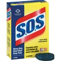 S.O.S  Steel Wool Soap Pad, 15/Box