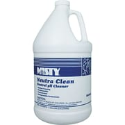 Misty  Neutra Clean Floor Cleaner, Fresh, 1 gal Bottle, 4/Ctn