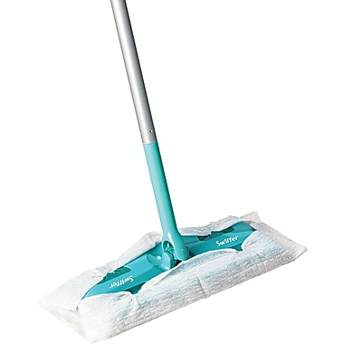 Swiffer  Sweeper  Mop, Green, 10in.(W), 3/Carton