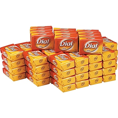 Dial® Gold Bar Soap, Fresh, 3.5 oz., 72/Case