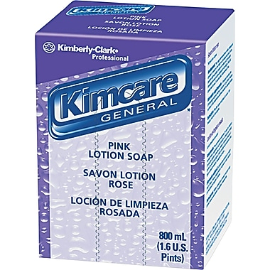 Kimberly-Clark® Lotion Skin Cleanser, Peach, Refill, 800 ml, 12/Case