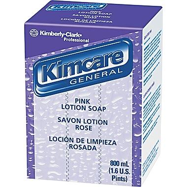 Kimberly-Clark® Lotion Skin Cleanser, Peach, Refill, 800 ml, 12/Case