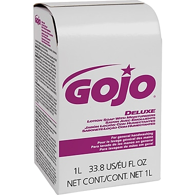 GOJO® NXT™ Deluxe Lotion Soap With Moisturizers Refill, Light Floral, 1000 ml, 8/Case
