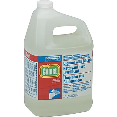 Comet Cleaner With Bleach, Fragrance-Free, 1 gal