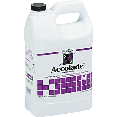 Franklin Cleaning Technology Accolade™ Floor Sealer, 1 gal Bottle, 4/Ctn