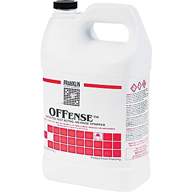 Franklin Cleaning Technology  Offense™ Stripper, 1 gal Bottle, 4/Ctn