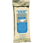 Scrubs® Metal Polish Wet Wipes, 12 Packs/Case