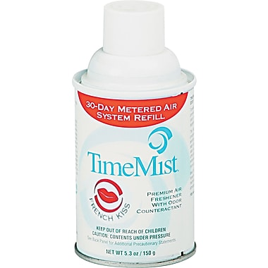 TimeMist Metered Fragrance Dispenser Refill, 6 Assorted Fragrances, 6.6 oz. Aerosol Can