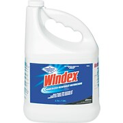 Windex® Powerized Glass Cleaner With Ammonia-D®, Unscented, 1 gal Bottle