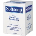 Softsoap Instant Hand Gel Sanitizer, Fragrance-Free, Clear, 800 ml Refill