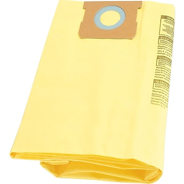 Shop-Vac High Efficiency Collection Filter Bag Fits 10 - 14 gal Tanks, Yellow