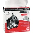 Brawny Industrial Heavy-Duty Shop Towel, Cloth, 5 Boxes/Case