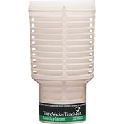 TimeMist® TimeWick Air Dispenser, Country Garden, Clear, 1.217 oz. Refill
