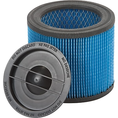 Shop-Vac  Ultra-Web  Cartridge Filter for HangUp Vacs, Blue