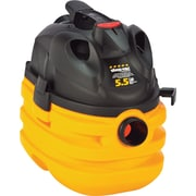 Shop-Vac  Heavy-Duty Portable Wet/Dry Vacuum, 5gal, 3 hp, 8.2 A, 17 lbs., Yellow/Black